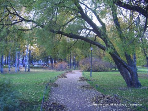 Таврический сад.