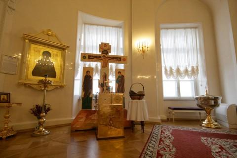Чернега А.В., Церковь св. кн. Александра Невского в здании Сената. 21.02.2012.