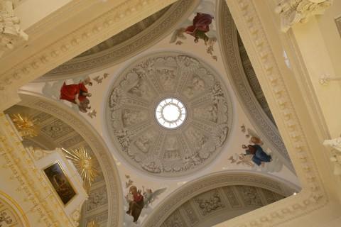 Чернега А.В., Купол церкви св. кн. Александра Невского в здании Сената. 21.02.2012.
