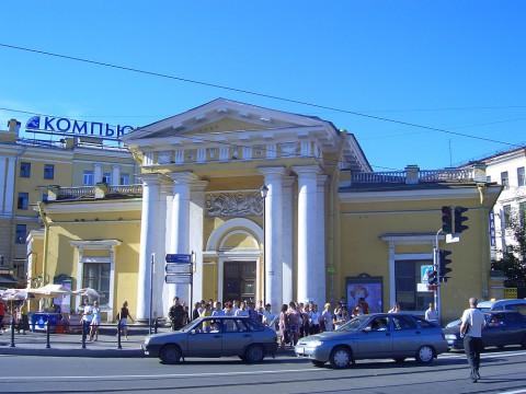 Павильон-гауптвахта на Сенной площади. 2007.07.17.
