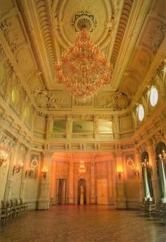 Зал во дворце А. Д. Шереметева (Дом писателей). после 2006 года.