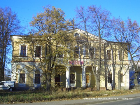 Караульный дом Галерной гавани.