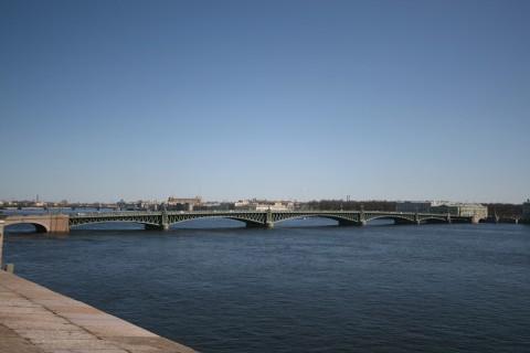 Троицкий мост. 2008.04.20.