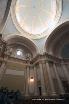 Купол костёла святой Екатерины. 2008.02.18.