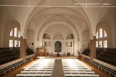 Зал Немецкого собора святого Петра. 2008.02.18.