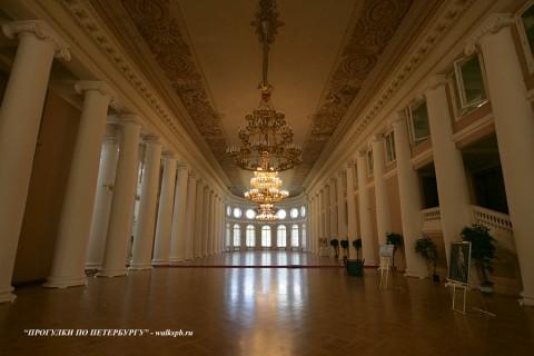 Колонный зал в Таврическом дворце. 2010.06.10.
