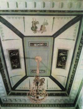 Плафон Опочивальни в Таврическом дворце.