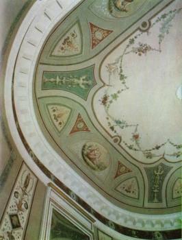 Фрагмент Овальной гостиной в Таврическом дворце.