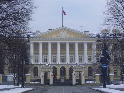 Здание Смольного института. 2006.02.23.