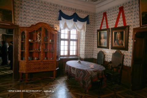 Комната в Меншиковском дворце. 2009.01.24.