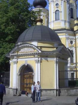Часовня Владимирского собора. 2006.06.12.