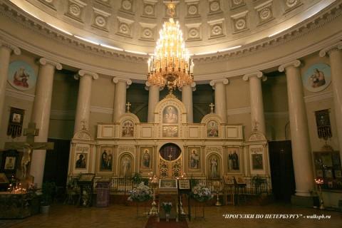 Зал церкви Божией Матери Всех Скорбящих Радости. 2009.03.12.