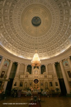 Купол церкви Божией Матери Всех Скорбящих Радости. 2009.03.12.