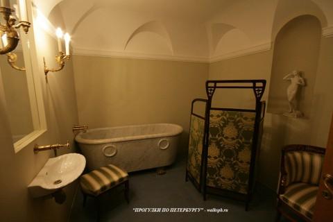 Ванная комната в Юсуповском дворце. 2011.04.16.