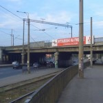 Железнодорожный мост, проспект Косыгина