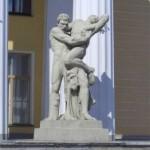 Борьба Геракла с Антеем