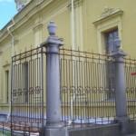 Ограда у Петропавловского собора