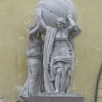 Скульптура у Адмиралтейства