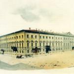 Дом Палибиной. На углу Михайловской площади