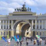 Арка здания Главного штаба