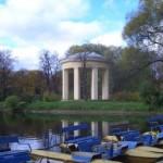 Павильон-ротонда в парке Екатерингоф