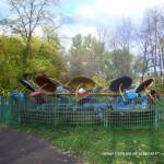 Аттракцион в парке Екатерингоф