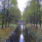 Подъездной канал в парке Екатерингоф