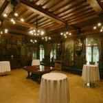 Ореховая столовая в особняке Елисеевых