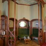 Фрагмент библиотеки в особняке Елисеевых