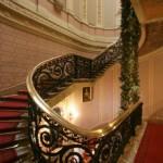 Парадная лестница в особняке Елисеевых