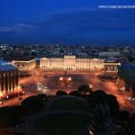 Исаакиевская площадь ночью