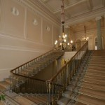 Парадная лестница в особняке Зубова