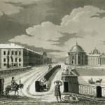 Вид на Фонтанку и казармы Измайловского полка