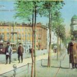 Александровский проспект, начало Большого проспекта