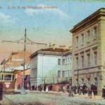 Большой проспект у улицы Шамшева