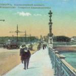 Нева, набережная императора Петра Великого у Троицкого моста
