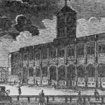 Знаменская площадь в 1850-1860 гг.