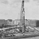 Сооружение обелиска «Городу-герою Ленинграду»