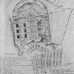 Проект перепланировки главного Гребного порта. Первый вариант