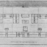 Проект перестройки адмиралтейских казарм. План нижнего этажа