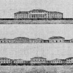 Проект перестройки адмиралтейских казарм. Фасады
