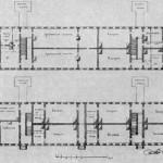 Проект гауптвахты, казарм и арестантских при Морском госпитале на Выборгской стороне