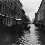 Подъяческая улица во время наводнения