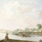 Вид на дачу Строгановых со стороны Невки