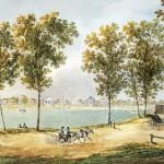 Вид Новой Деревни в Петербурге со стороны Каменного острова