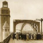 Открытие моста Петра Великого (Большеохтинского моста) на Неве