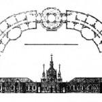 Проект католической церкви (?) в Санкт-Петербурге