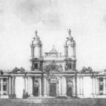 Проект фасада католической церкви