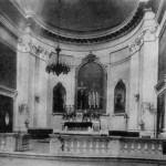 Алтарная часть храма до перестройки