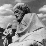 Мраморная скульптура апостола Марка
